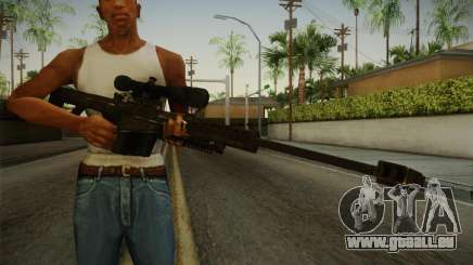 CoD 4: MW - Barrett M82 Remastered für GTA San Andreas