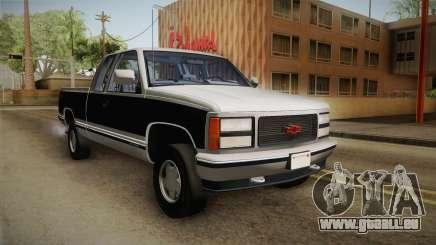 Chevrolet Silverado 1992 pour GTA San Andreas