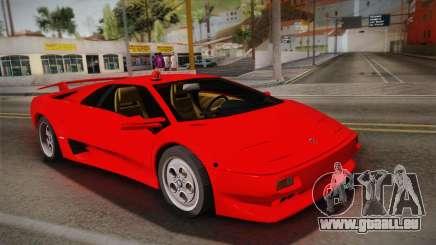 Lamborghini Diablo VT FBI 1995 pour GTA San Andreas