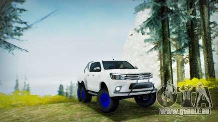 Toyota Hilux Arctic Trucks 6x6 für GTA San Andreas