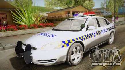 Chevrolet Impala Police Malaysia pour GTA San Andreas