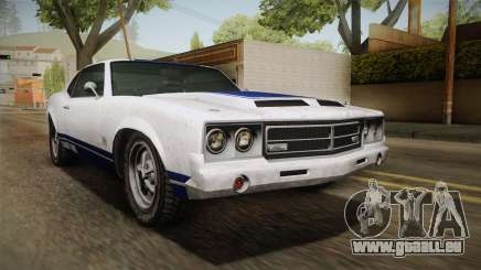 GTA 5 Declasse Sabre GT Painted Bumpers für GTA San Andreas