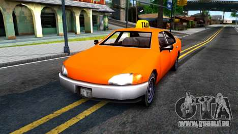 Kuruma GTA 3 Taxi pour GTA San Andreas
