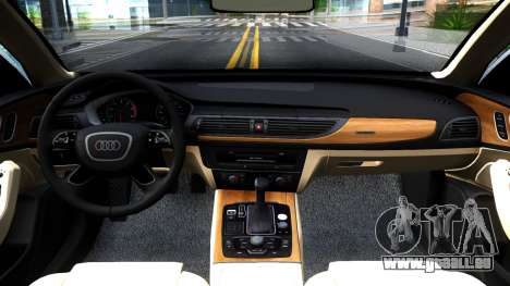 Audi RS7 Sportback pour GTA San Andreas vue intérieure