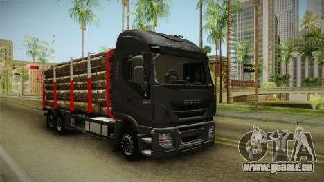 Iveco Stralis Hi-Way 560 E6 6x2 Timber v3.0 für GTA San Andreas