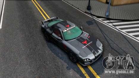 Mazda RX-7 pour GTA San Andreas vue de droite