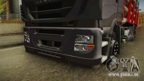 Iveco Stralis Hi-Way 560 E6 6x2 Timber v3.0 für GTA San Andreas Seitenansicht