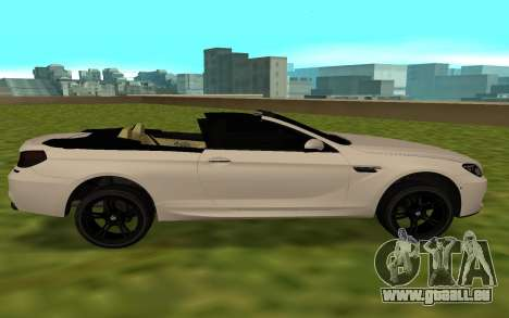 BMW M6 F13 Cabrio für GTA San Andreas linke Ansicht