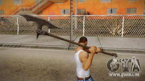 The Elder Scrolls V: Skyrim - Executioner Axe pour GTA San Andreas