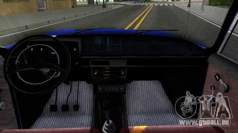 Moskwitsch-412 v1.0 für GTA San Andreas Innenansicht