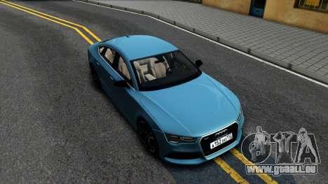Audi RS7 Sportback pour GTA San Andreas vue de droite
