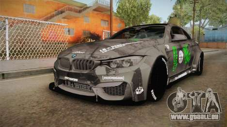 BMW M4 LB Walk Team-DiCE für GTA San Andreas