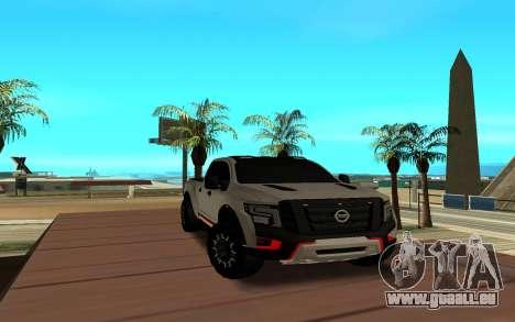 Nissan Titan pour GTA San Andreas