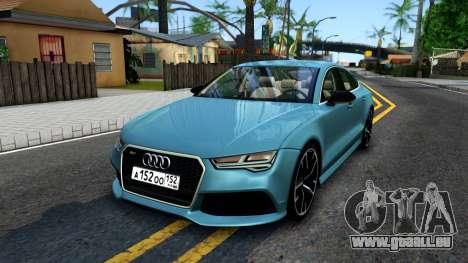 Audi RS7 Sportback pour GTA San Andreas