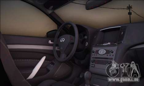 Infiniti G37 Coupe pour GTA San Andreas
