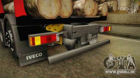 Iveco Stralis Hi-Way 560 E6 6x2 Timber v3.0 für GTA San Andreas Innen