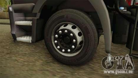 Iveco Stralis Hi-Way 560 E6 6x2 Timber v3.0 für GTA San Andreas Rückansicht