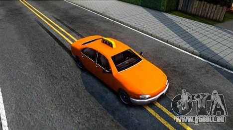 Kuruma GTA 3 Taxi pour GTA San Andreas vue de droite