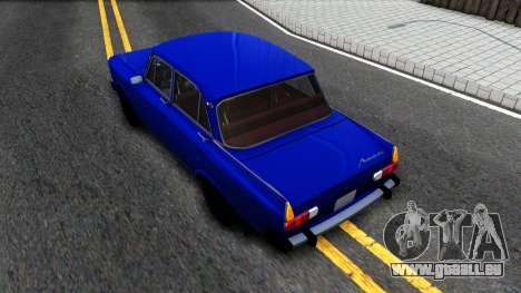 Moskwitsch-412 v1.0 für GTA San Andreas Rückansicht