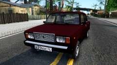 2107 Burgundy für GTA San Andreas