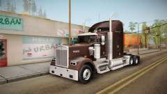 Kenworth W900 ATS 6x2 Middit Cab Normal pour GTA San Andreas