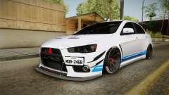 Mitsubishi Lancer EvoStreet PRO pour GTA San Andreas