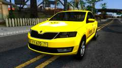 "Skoda Rapid ""Yandex Taxi"" pour GTA San Andreas"