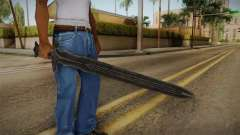 The Elder Scrolls V: Skyrim - Steel Sword pour GTA San Andreas