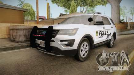 Ford Explorer 2012 Angel Pine PD pour GTA San Andreas