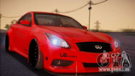 Infiniti G37 Coupe pour GTA San Andreas