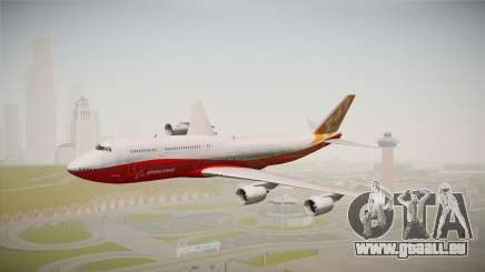 Boeing 747-8I Sunrise Livery pour GTA San Andreas