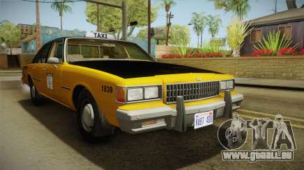 Chevrolet Caprice Taxi 1986 pour GTA San Andreas