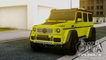Mercedes-Benz G63 4x4 für GTA San Andreas