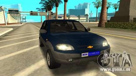 Lada Niva Urban pour GTA San Andreas