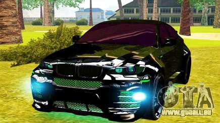 LANDSTALKER BMW X6 HAMMAN SPORTS für GTA San Andreas