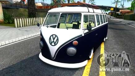 Volkswagen Transporter T1 Stance V2 für GTA San Andreas