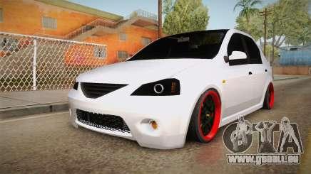 Dacia Logan Tuning v2 für GTA San Andreas