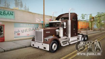 Kenworth W900 ATS 6x2 Middit Cab Normal für GTA San Andreas