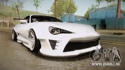 Toyota Supra 8PraLift Hachi NieR Automata 2B für GTA San Andreas