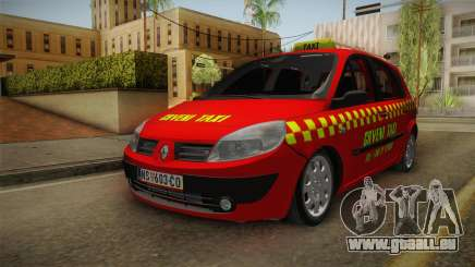 Renault Scenic Mk2 Crveni Taxi pour GTA San Andreas