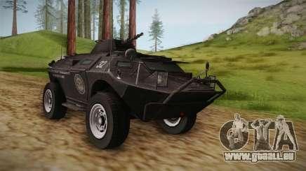 GTA 4 EFLC TBOGT - APC für GTA San Andreas