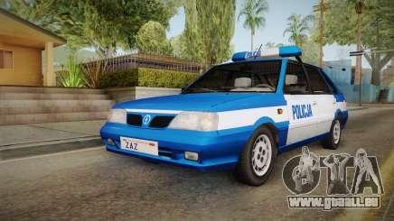 Daewoo-FSO Polonez Caro Plus Policja 2 1.6 GLi pour GTA San Andreas