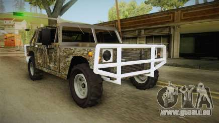 New Patriot Hummer pour GTA San Andreas