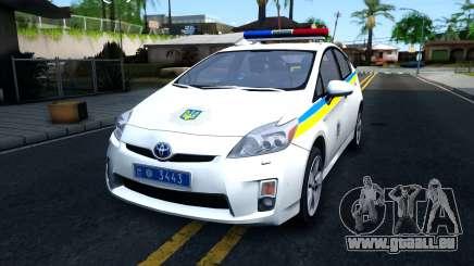 Toyota Prius Ukraine Police für GTA San Andreas