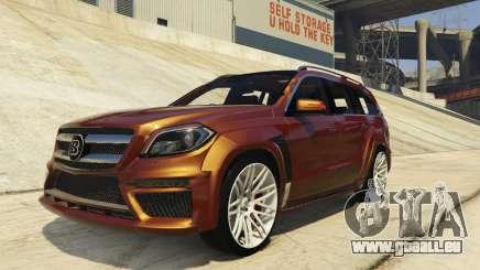 Brabus B63S Widestar pour GTA 5