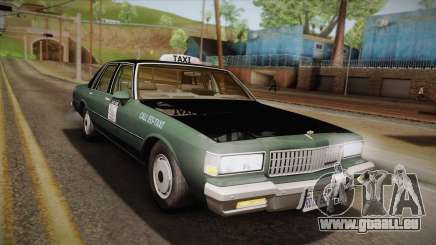 Chevrolet Caprice Taxi 1989 pour GTA San Andreas