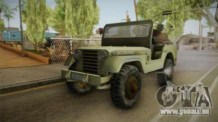Jeep from The Bureau XCOM Declassified v2 pour GTA San Andreas