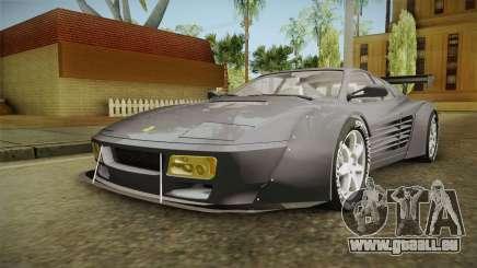 Ferrari 512 TR Widebody pour GTA San Andreas