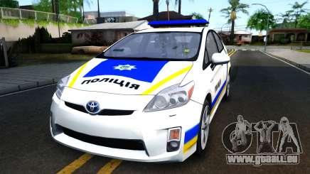 Toyota Prius Ukraine Police pour GTA San Andreas