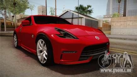 Nissan 370Z Nismo 2016 SA Plate für GTA San Andreas